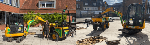 We have many years of experience in groundworks, working throughout the UK. Groundworks is the work done to prepare sub-surfaces for the start of construction work.